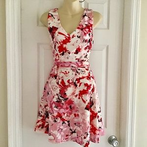 Necessary Objects A-Line Floral Dress NEW